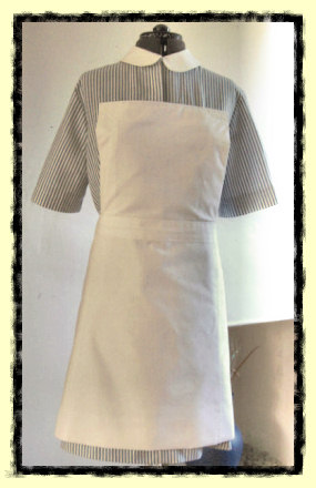 seventies style nurse's uniform